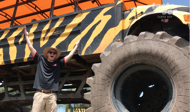 Photos: World's largest monster truck safari