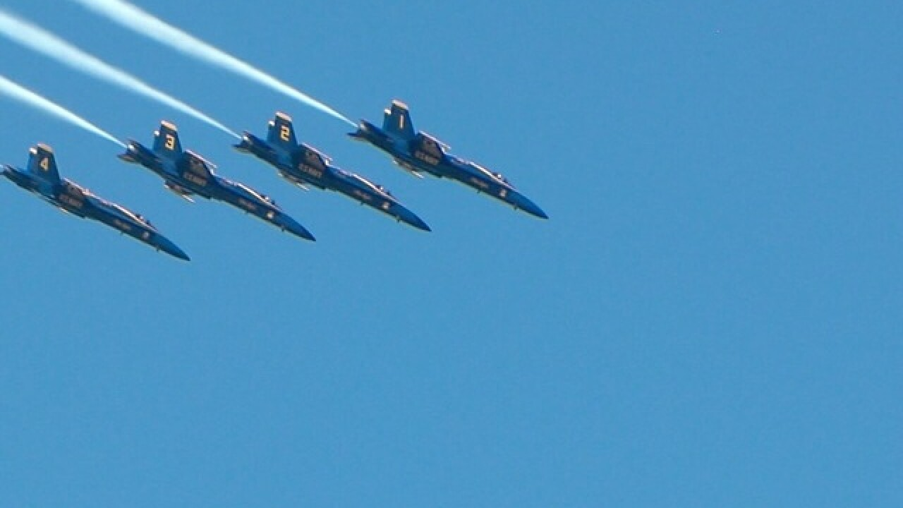 Cleveland National Air Show and other events during Navy Week