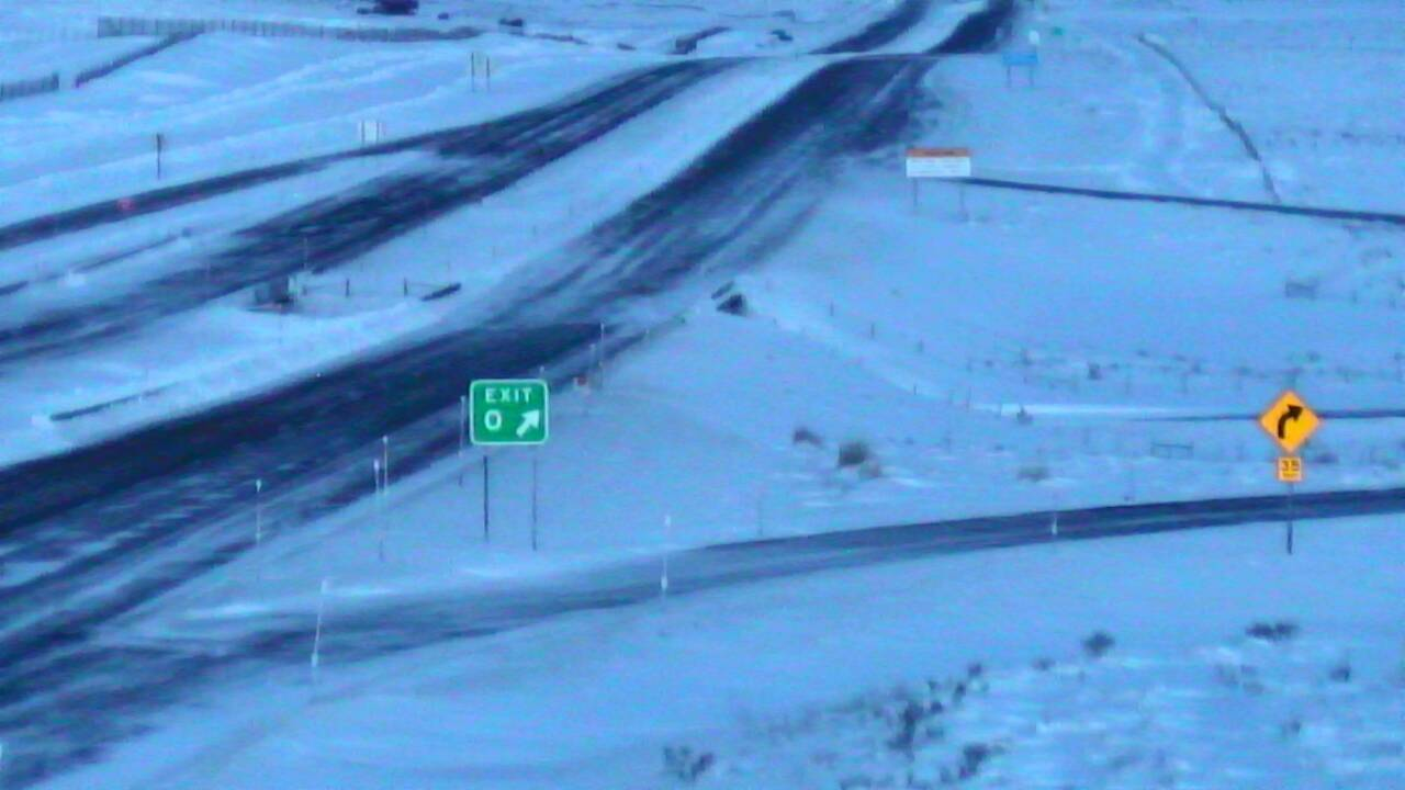 Winter weather closes Monida Pass on I-15