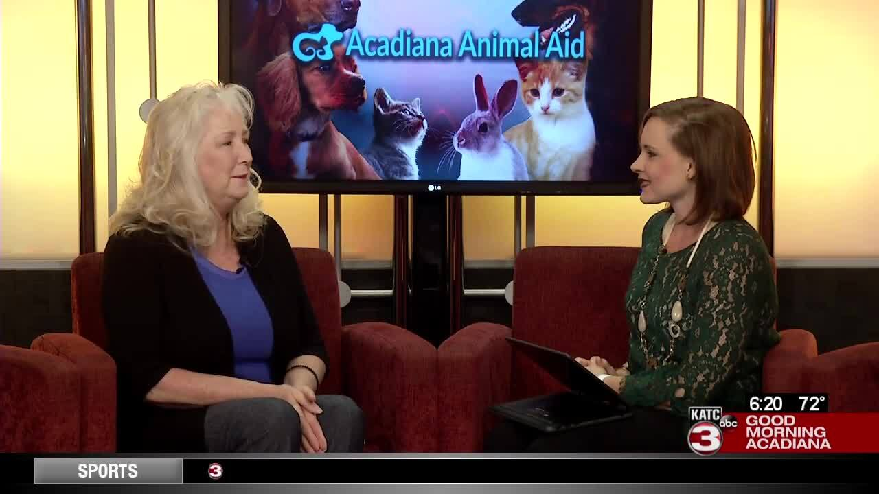 Acadiana Animal Aid Celebrity Pet Photo Contest