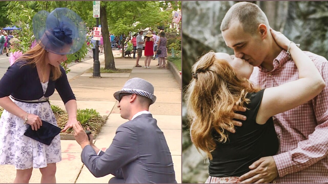 She said yes! The story behind 'fairytale' Easter on Parade surpriseproposal