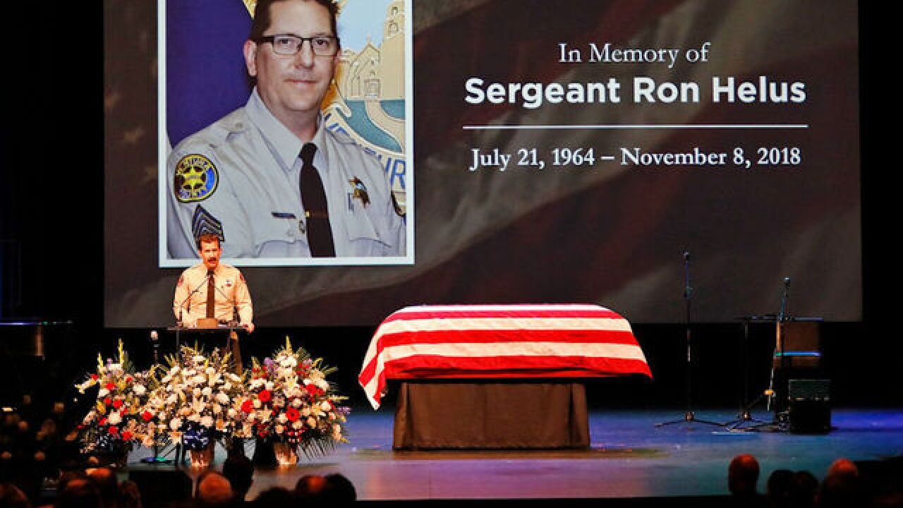 Sheriff's sergeant killed by friendly fire during Calif. mass shooting, officials said