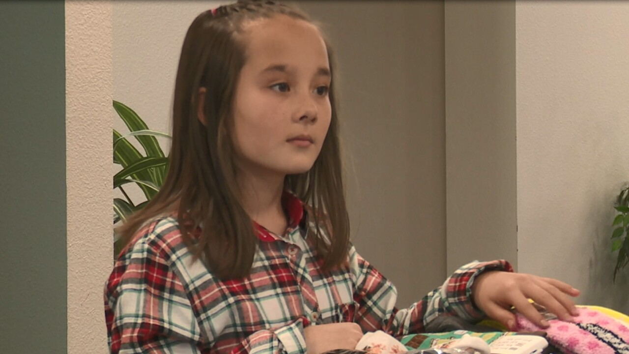 "Great Falls girl creates ""Socktober"" to help the Rescue Mission"