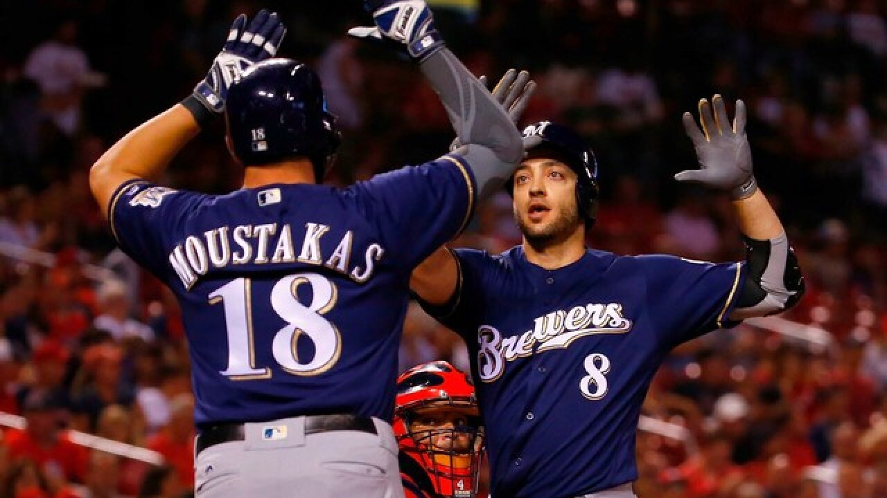 The Milwaukee Brewers are playoff bound for the first time in seven years