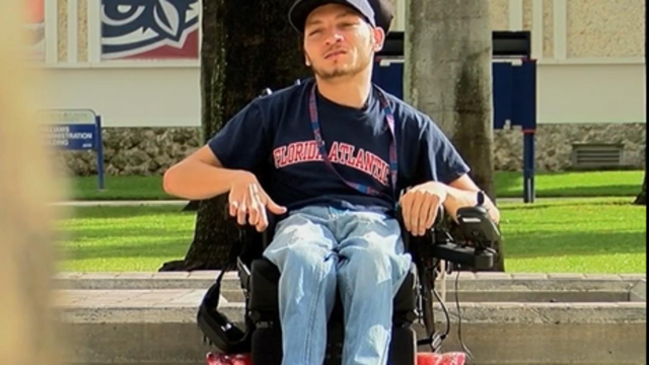 Florida Atlantic University student's story inspires others
