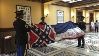 Racial Injustice-Confederate Flag-Mississippi