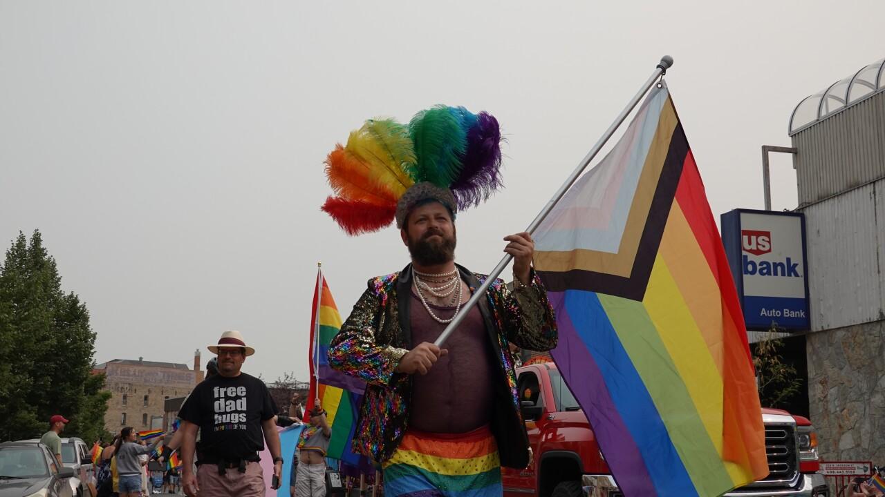 Big Sky Pride Philidelphia Pride Flag