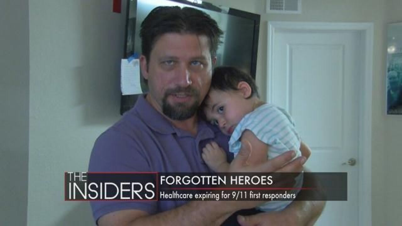 Insiders: Tallahassee Paramedic Helped Recovery Efforts on 9/11 Worried About Health Coverage