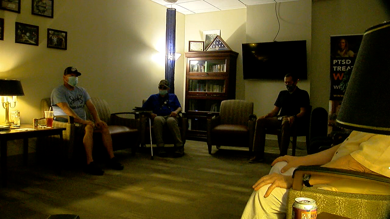 Veteran group session