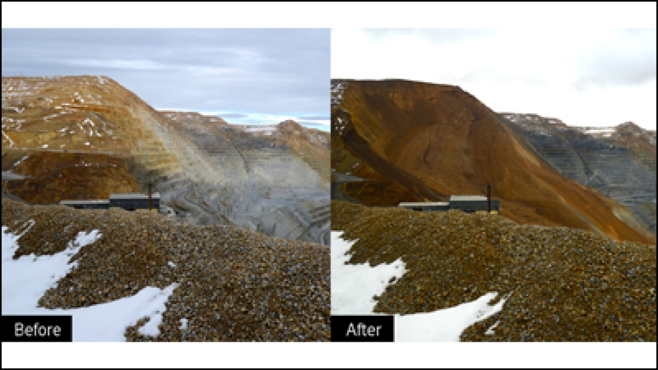 Kennecott: 50 percent reduction in copper production at Bingham Canyon Mine in 2013