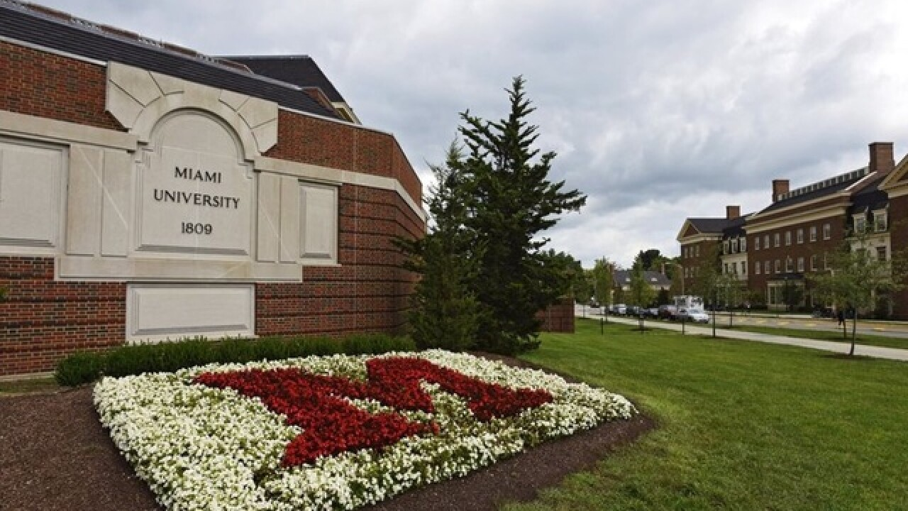 Miami University suspends all frat activity after reports of hazing