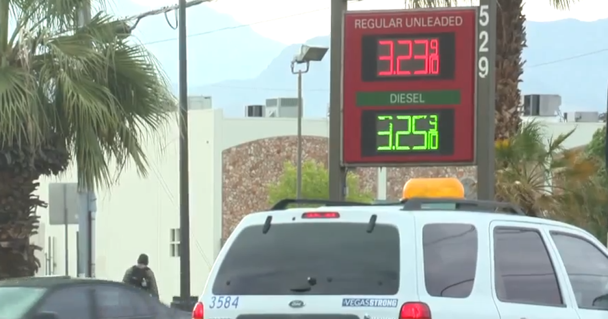 Las Vegas Gas Prices >> Higher Gas Prices In Las Vegas Tied To Higher Prices At Pump In