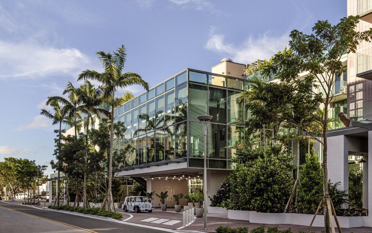 The Ray is now open for hotel guests in downtown Delray Beach.