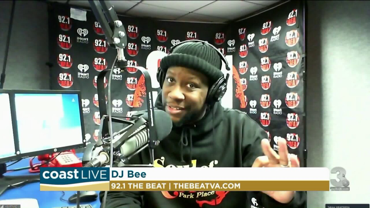 Music news with DJ Bee from 92.1 The Beat on Coast Live