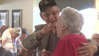 couple celebrates 75 years together