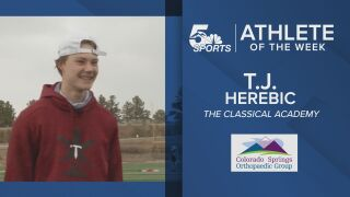 KOAA Athlete of the Week: TCA's TJ Herebic