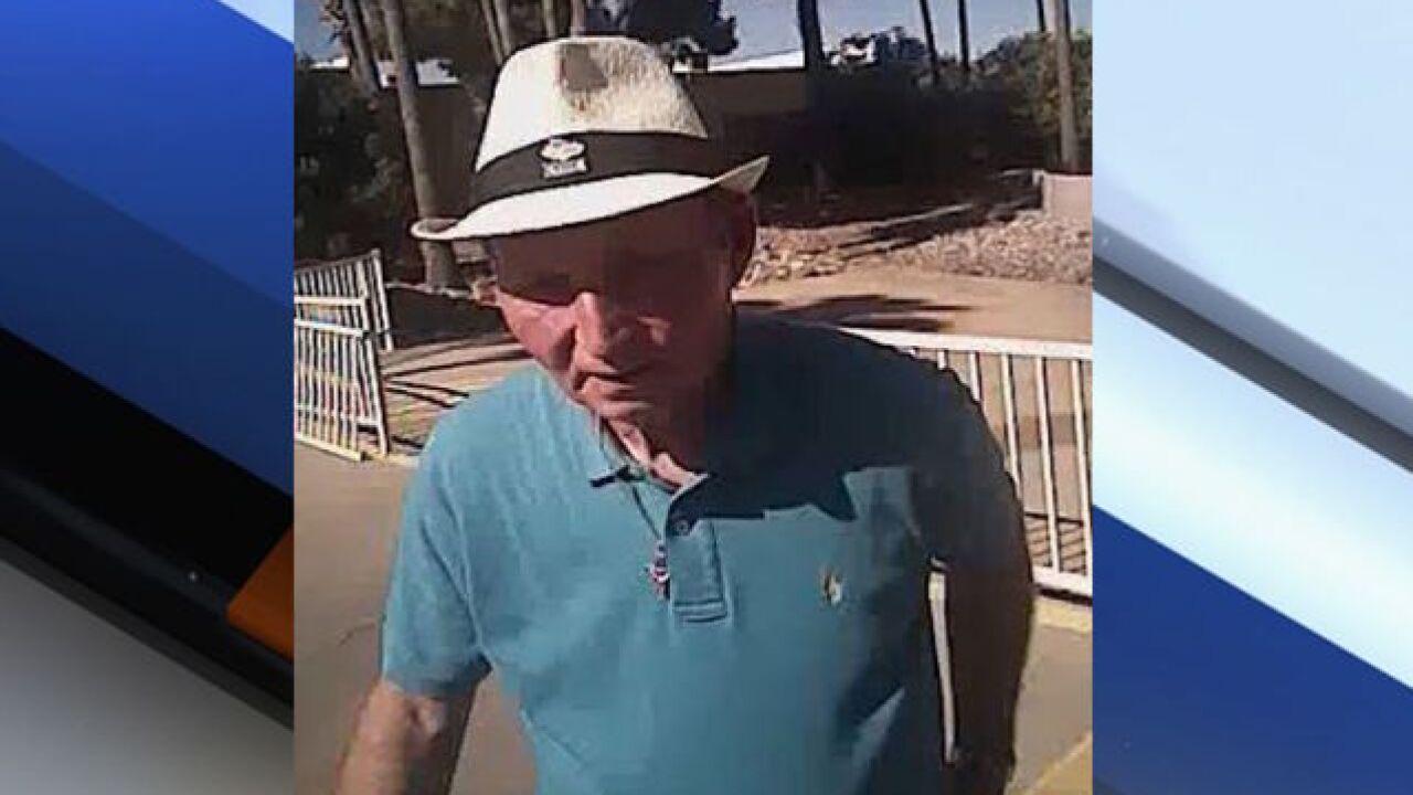 Mesa PD search for retirement community burglar