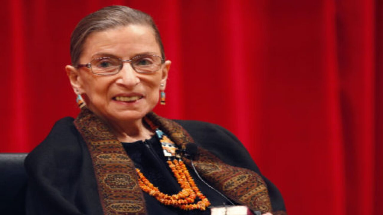 Ruth Bader Ginsburg Wrote One Last Book And It's Due Out Soon