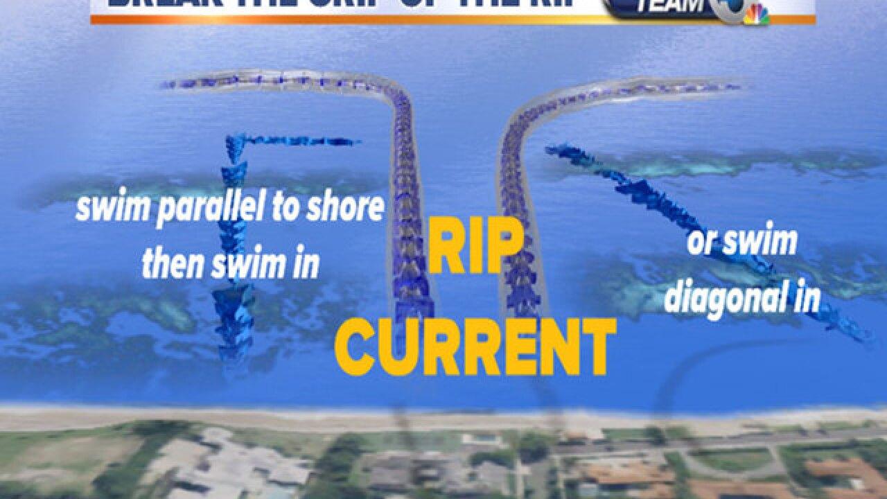 Beachgoers beware: Hurricane Chris sending risky surf ashore in Florida