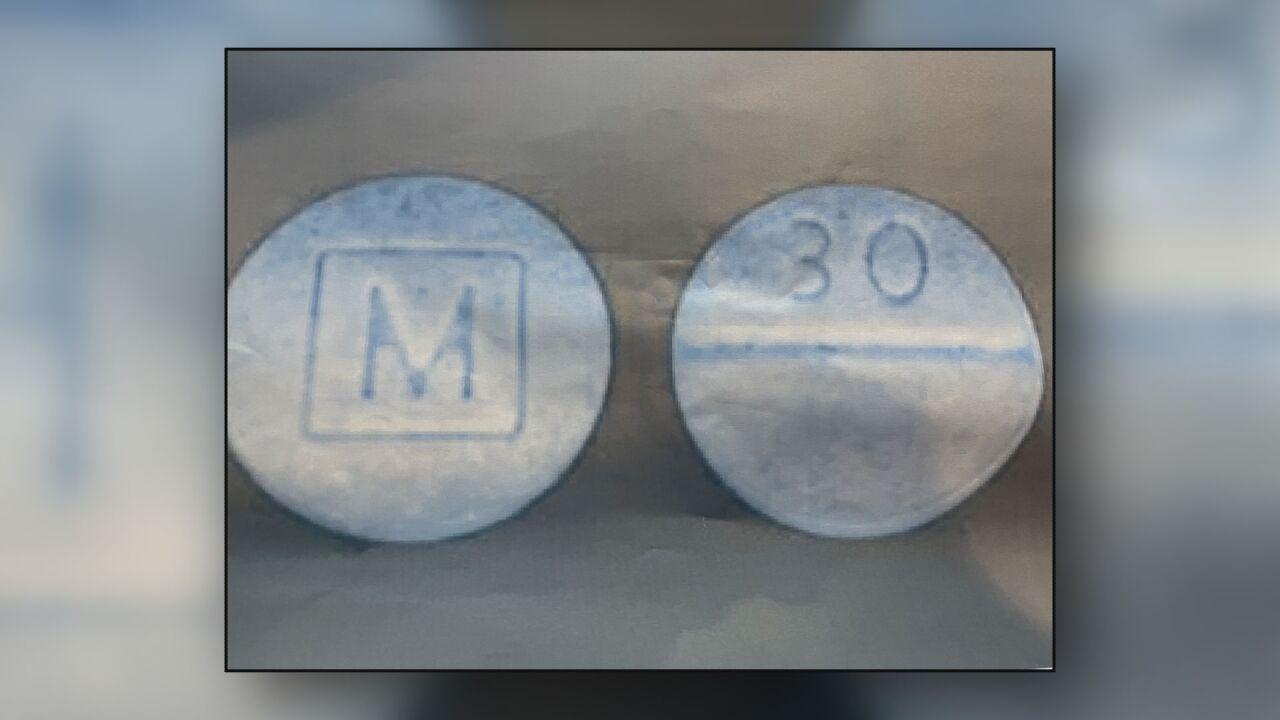 Counterfeit M30 pills