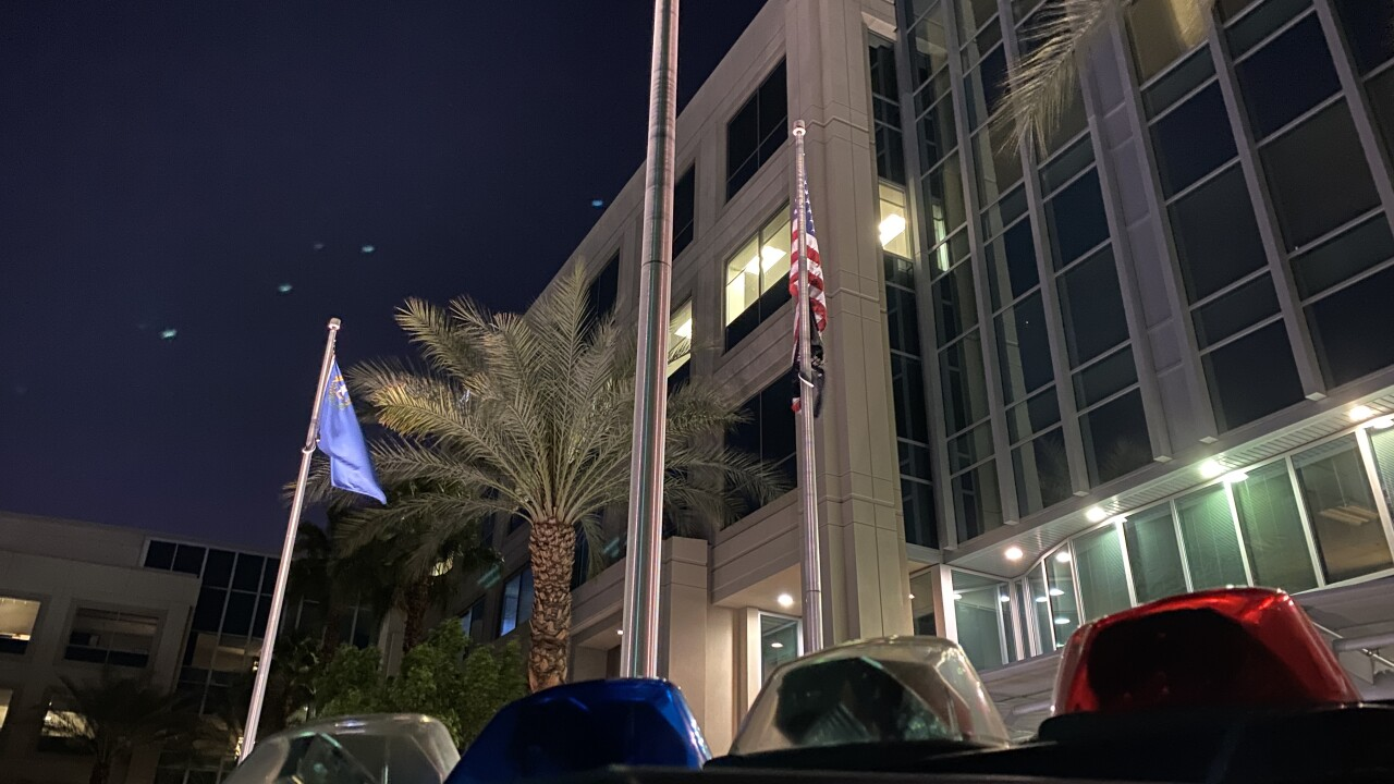 Las Vegas Metropolitan Police Department is one of the largest law enforcement agencies in the nation as seen in March 2021