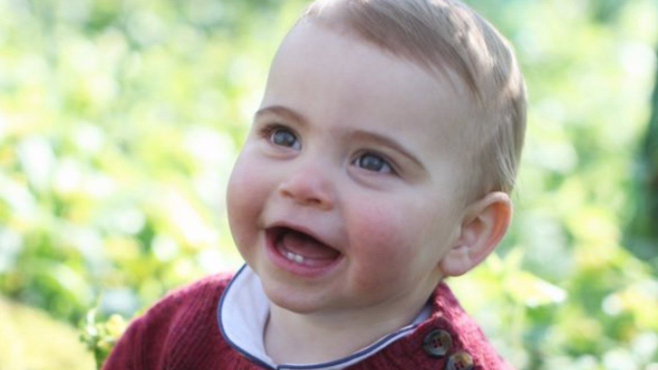 Royal family releases new photos of Prince Louis ahead of his first birthday
