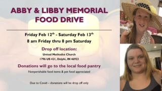 Abby and Libby Memorial Food Drive
