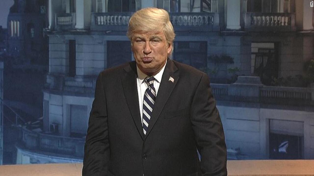 Alec Baldwin says he's 'done' playing Trump on 'SNL'