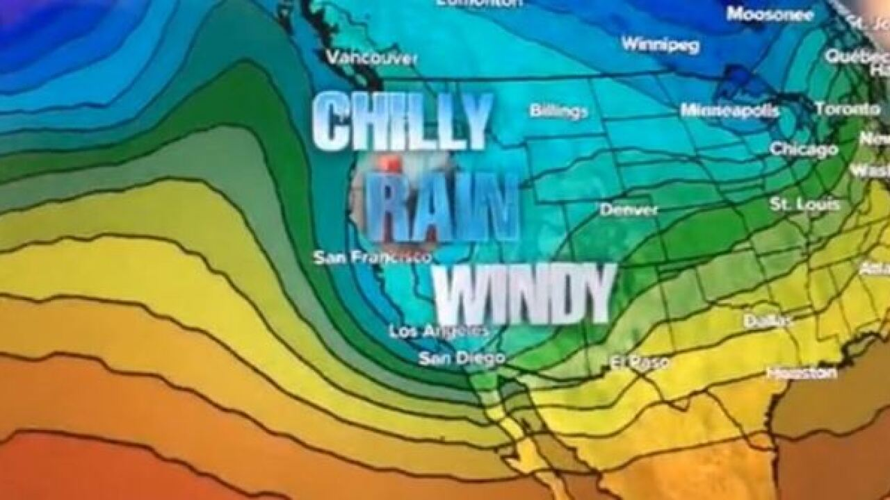 VIDEO: Weekend storm not typical for El Nino