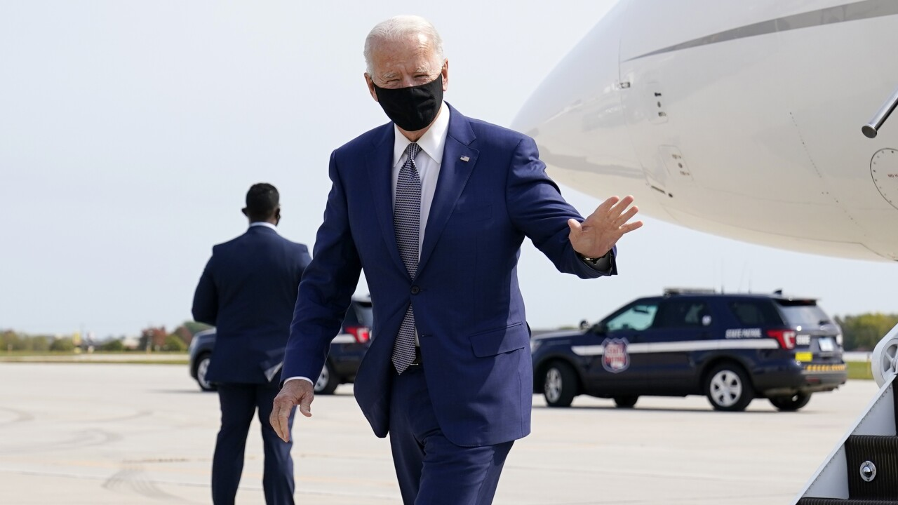 Biden making campaign stop in Wisconsin as US nears 200,000 COVID-19 deaths
