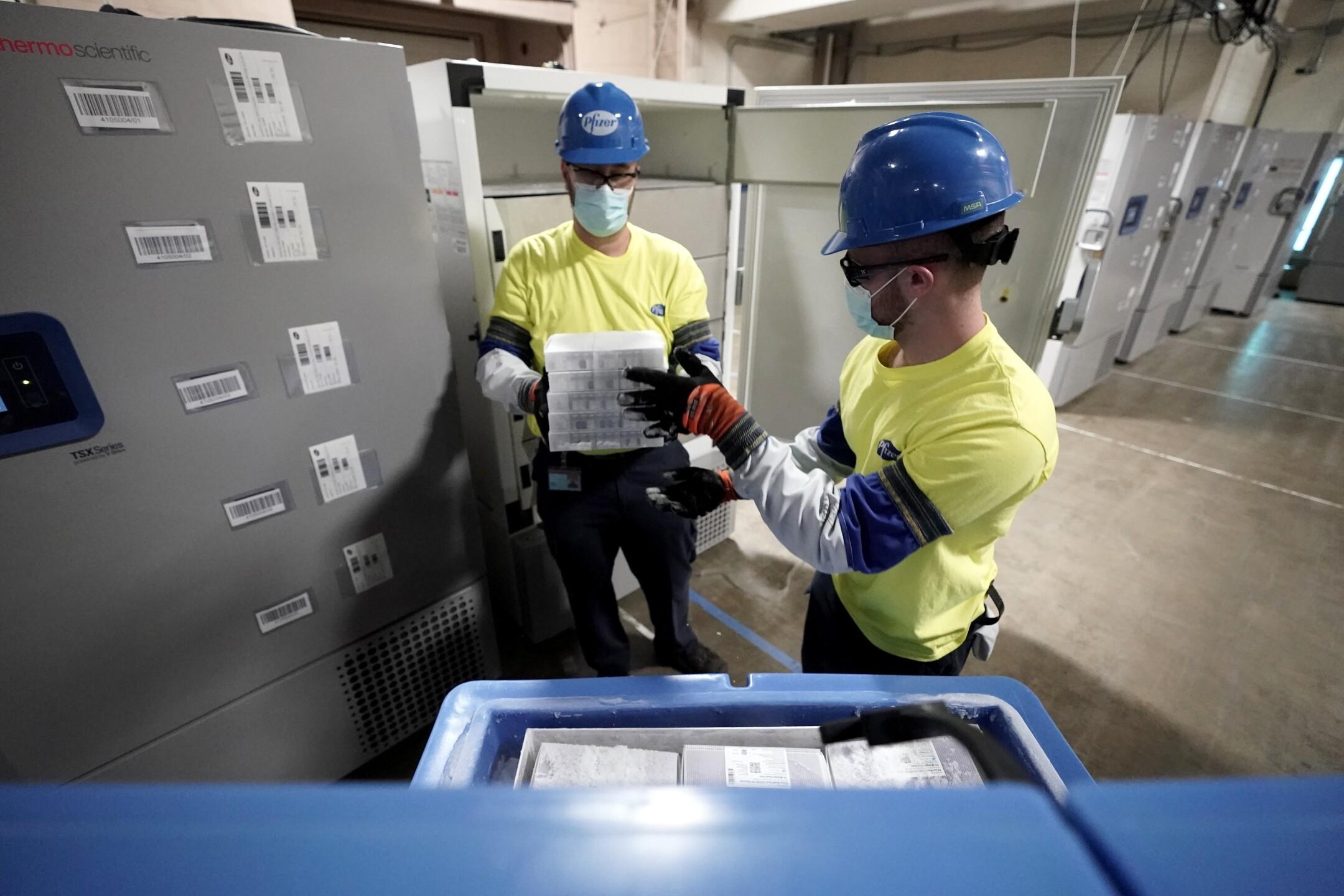 Pfizer COVID-19 vaccine Michigan plant ready to go