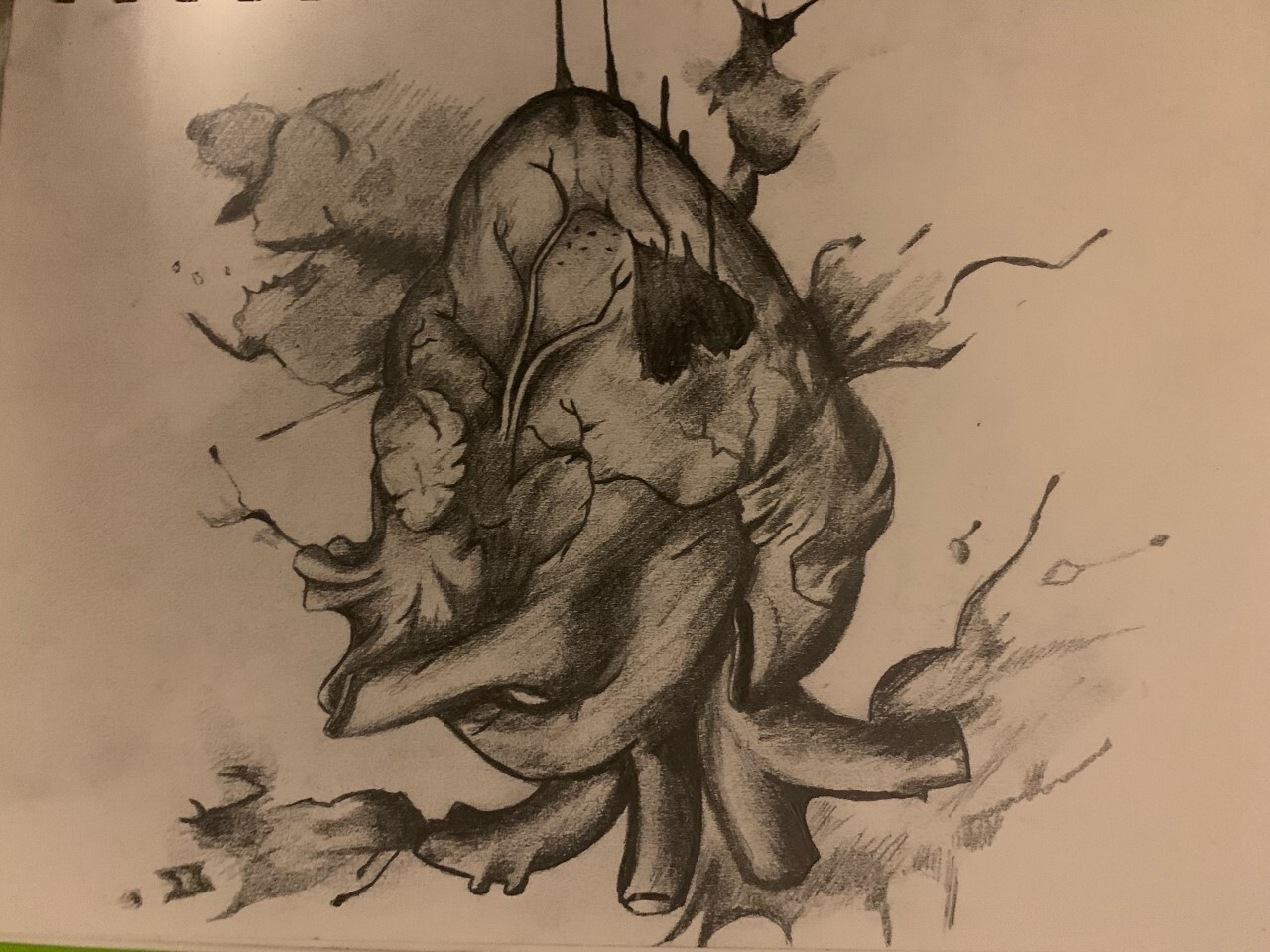 Amyah Moore-Allen's picture of a heart