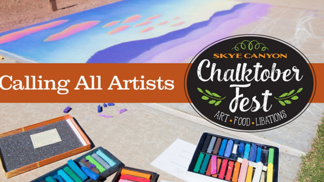 Registration for Chalktober Fest at Skye Canyon now open