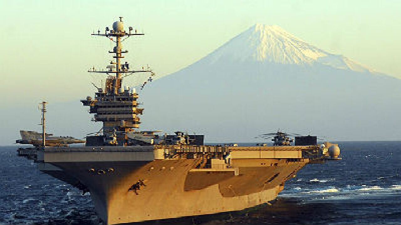 USS George Washington battle group ordered to Philippines for typhoon relief