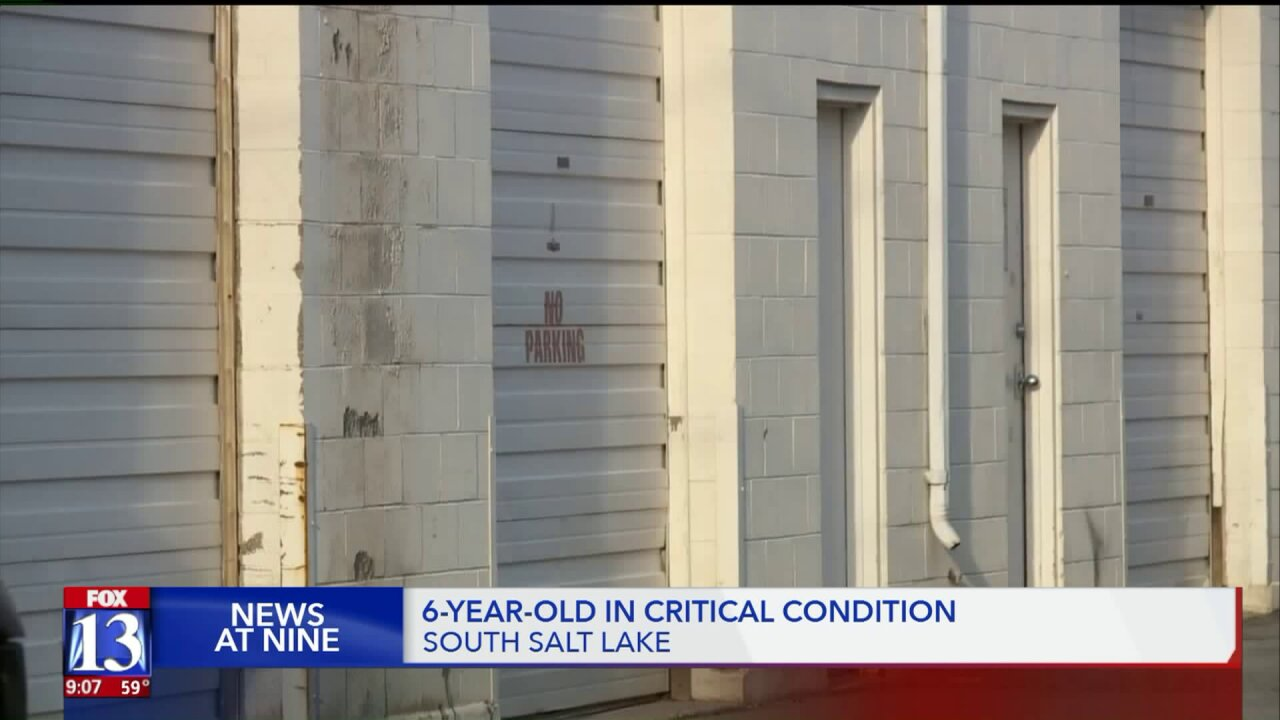 6-year-old girl in critical condition after being hit by car in South SaltLake