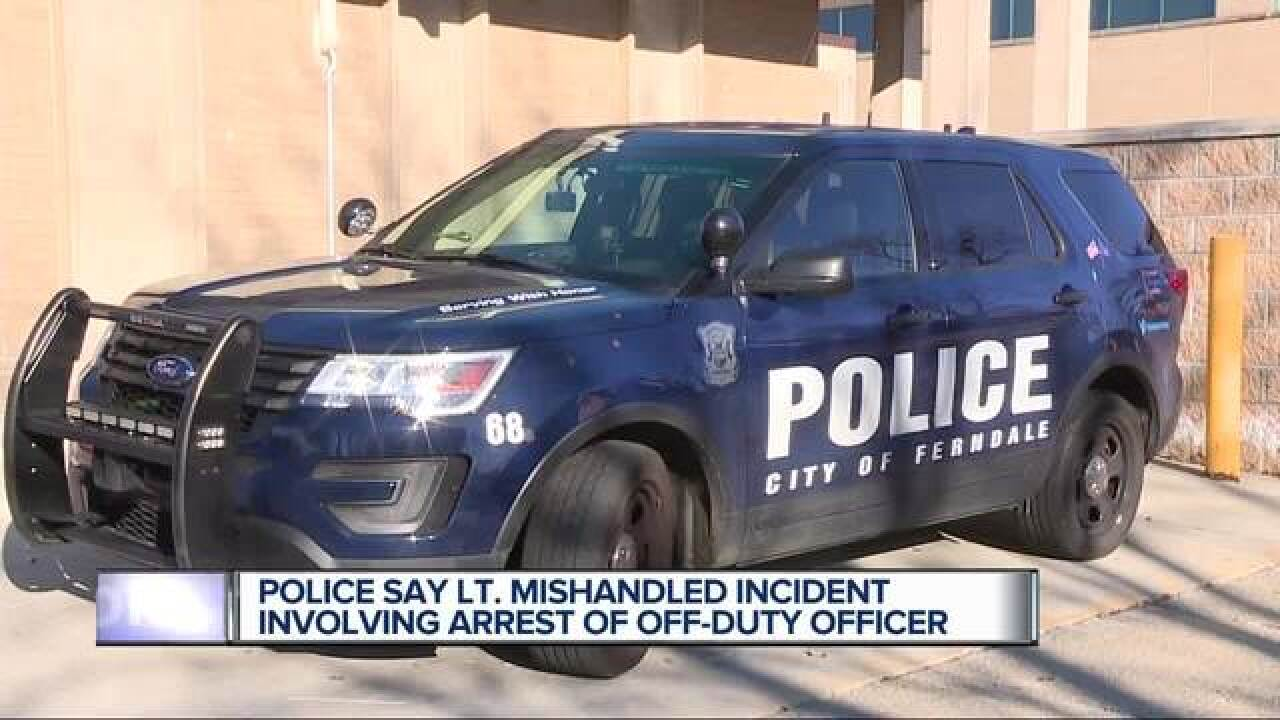 Cop drives off-duty officer home after DUI stop