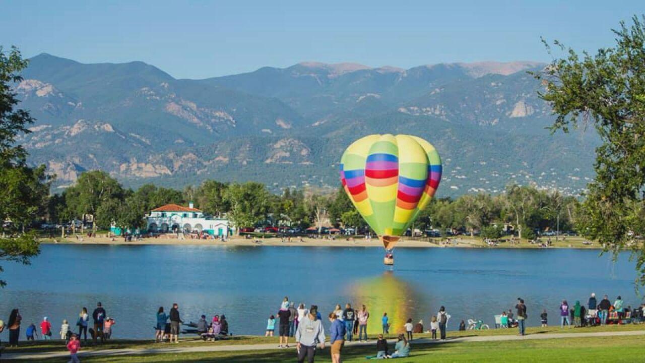 Labor Day Lift Off balloon