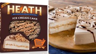 This Giant Heath Ice Cream Cake Serves 9 People