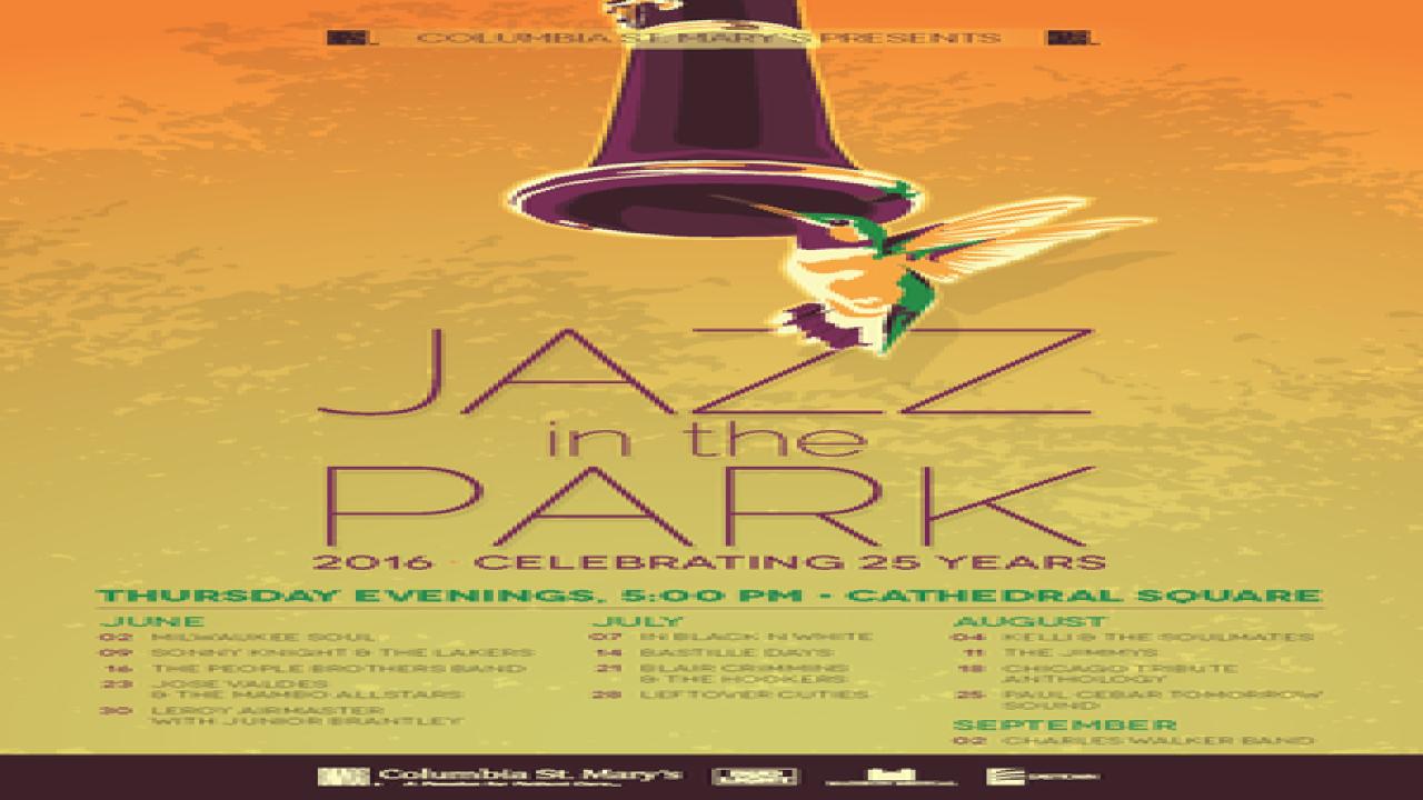Jazz in the Park returns Thursday