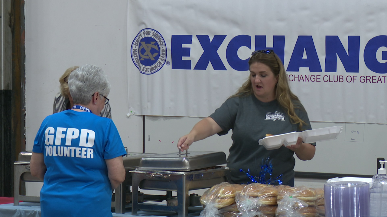 Great Falls Exchange Club hosts luncheon to thank first responders