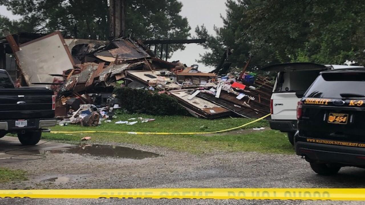House explosion Wayne County