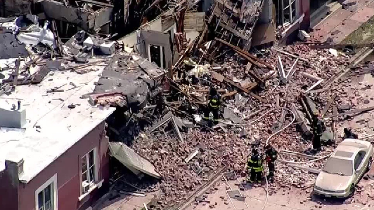 Injuries reported after natural gas explosion
