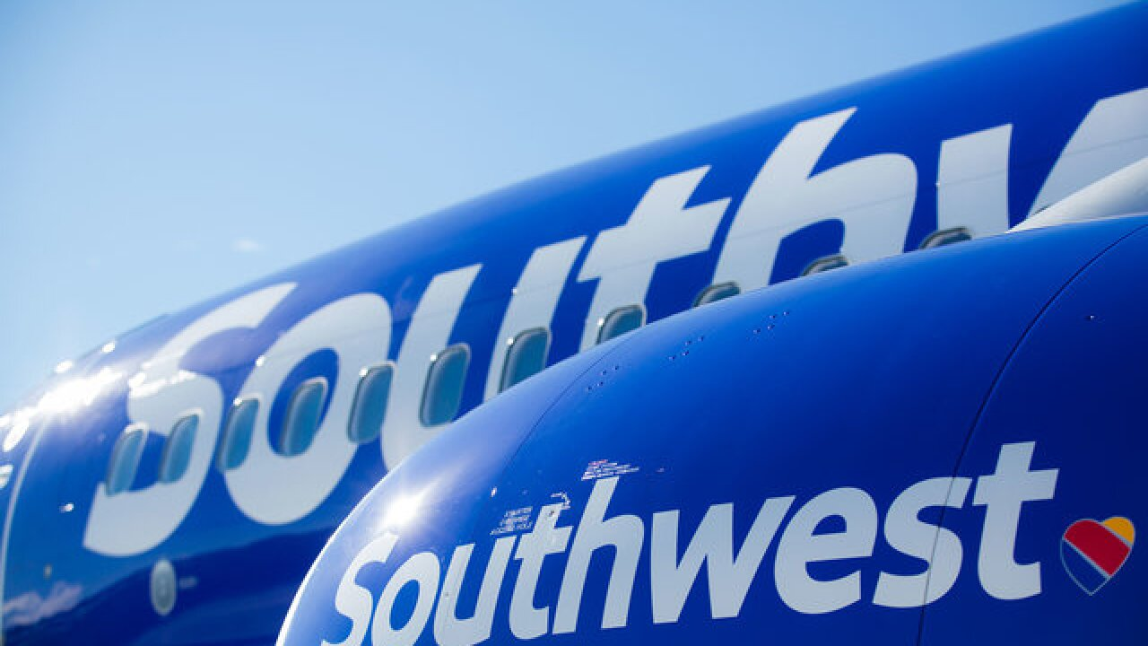 Southwest Plane makes emergency landing in Tulsa