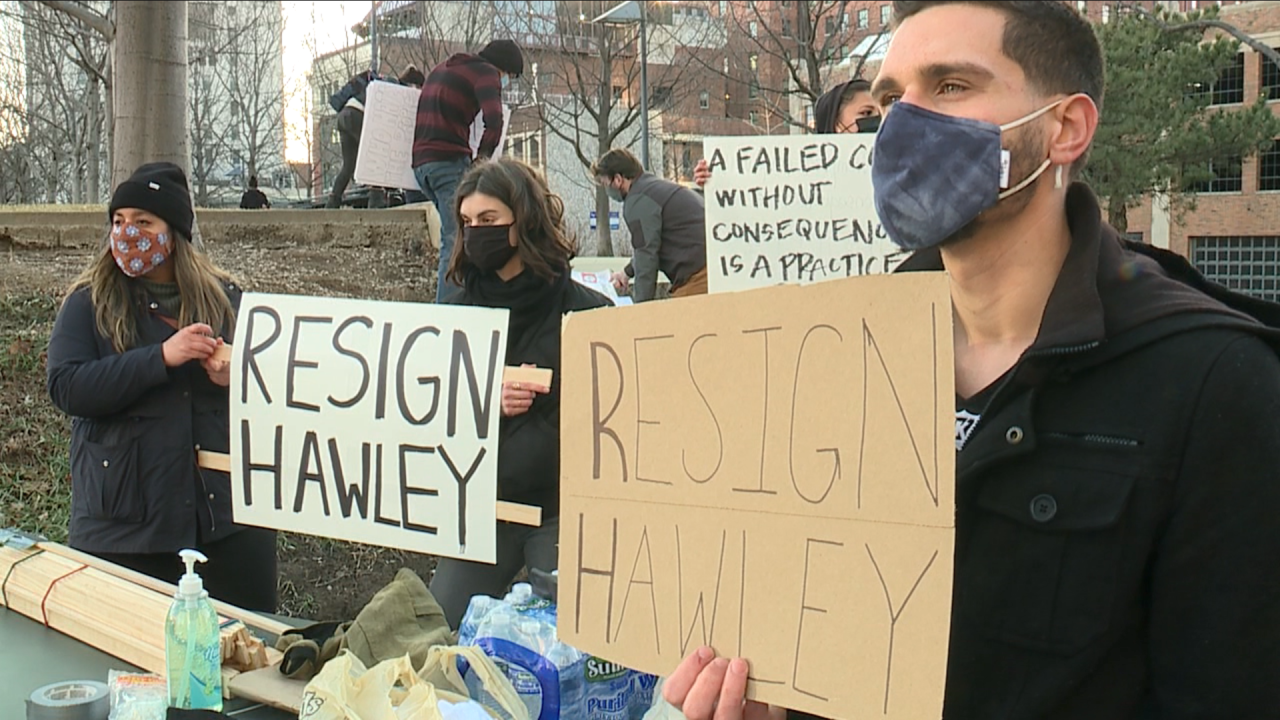 KC Protest for Josh Hawley to Resign
