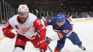 Dylan_McIlrath_Detroit Red Wings v New York Islanders