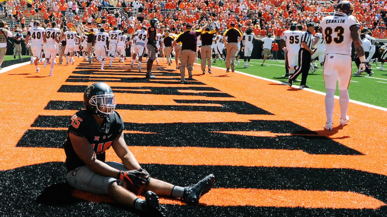 Referee admits mistake led to Oklahoma State upset loss