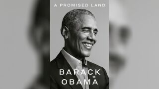 "Barack Obama new book ""A Promised Land"""