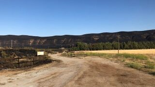 Shandon fire was sparked by mower, CAL FIRE says