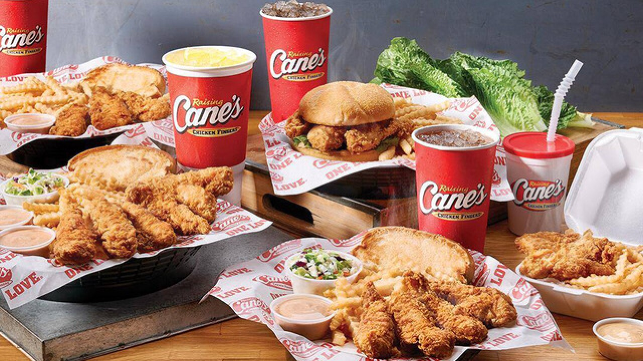 Workers fired after stirring tea with arm at Raising Cane's in Missouri