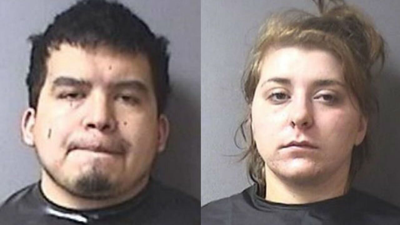 Parents arrested in Anderson toddler's death